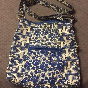 University of Kentucky crossbody purse